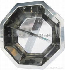 s/s steamboat divided into nine lattice hot pot(jiu gong ge)kitchen Utensils