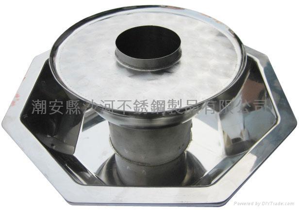 炊具不锈钢太阳子母锅 5