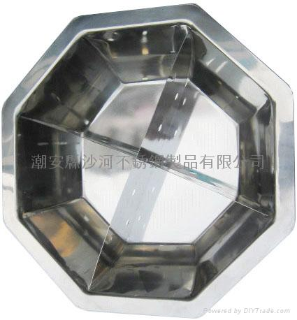 不锈钢八角盆 5