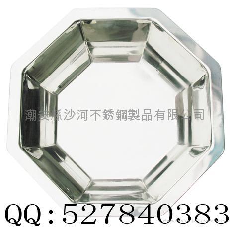 不锈钢八角盆 1