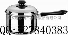 Single stalk milk pot ,Single stalk milk pot,stailess steel milk pan,Saucepan