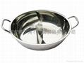 不鏽鋼大八方鍋