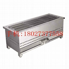 LARGE BBQ GRILL SATAY STEAK CHARCOAL STOVE THAI KOREAN PICNIC GRILL HOT