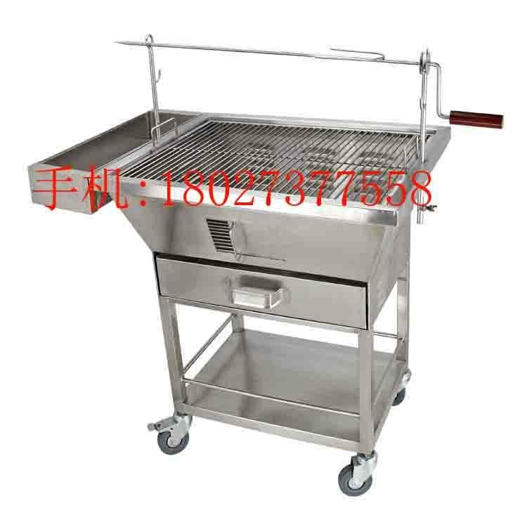 不鏽鋼木炭燒烤車