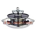 砂河三層燒烤火鍋