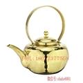 Copper tea pot extended mouth 3