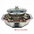 砂河原汁原味多功能高效蒸涮火鍋 1