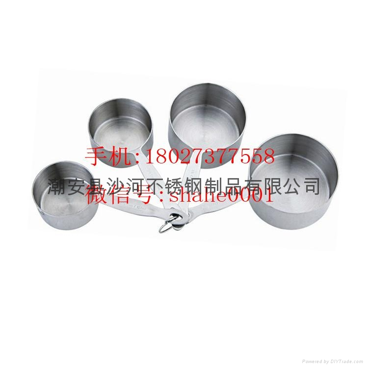 Stainless Steel  measuring cups 1