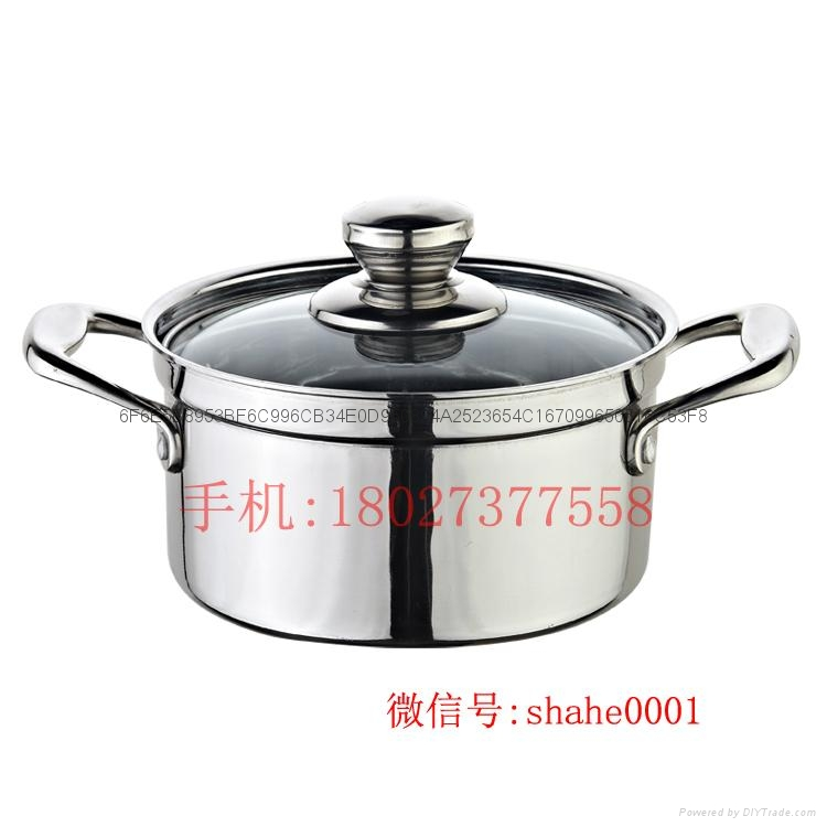 Stainless steel yin yang dual sided hot pot (manufactueres) 4