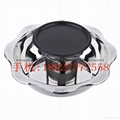 Stainless steel yin yang dual sided hot pot (manufactueres) 18