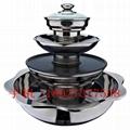 電陶爐四層火鍋