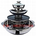 Steamboat divided into four storeys small lot order available