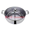 根據客戶要求來圖來樣加工定做各種不鏽鋼火鍋 1