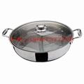 根據客戶要求來圖來樣加工定做各種不鏽鋼火鍋 2