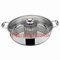 根據客戶要求來圖來樣加工定做各種不鏽鋼火鍋 3