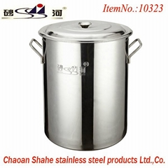 Best quality Stainless Steel Stock Pot With Lid,Soup Pail