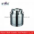 Stainless Steel milk pail,milk barrel,milk can milk keg 5
