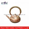 仿古式燒碳銅制火鍋 銅制品