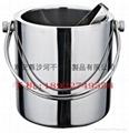stailess steel ice bucket
