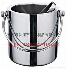 不锈钢冰粒桶
