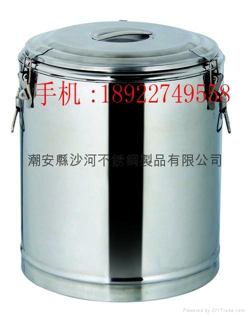 s/s lage capacity insulate heat preservation soup barrel liquid food container  1