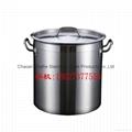 05款不锈钢复合底汤桶 电磁炉