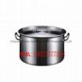 特厚05款不鏽鋼復合底湯桶 電磁爐鍋商用 不鏽鋼桶 家用復底湯鍋