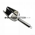 Hotel bar tools restaurant kitchenware s/s flat bottom ice shovel grain scoop