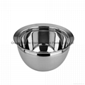 material 304 stainless steel drum shape oil pot 1