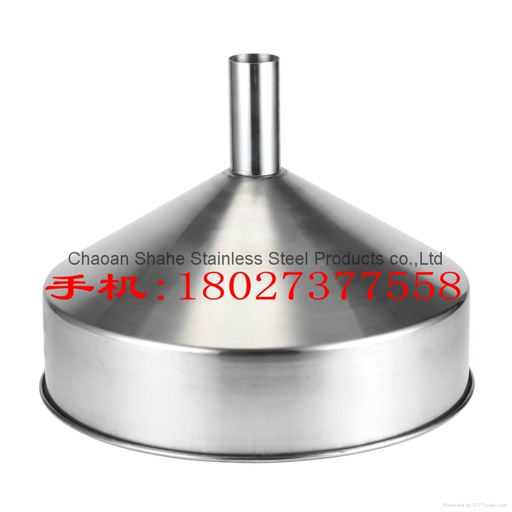 The quality is 1.75 kg,diameter 40 cm,material 304 Stainless steel funnel 3