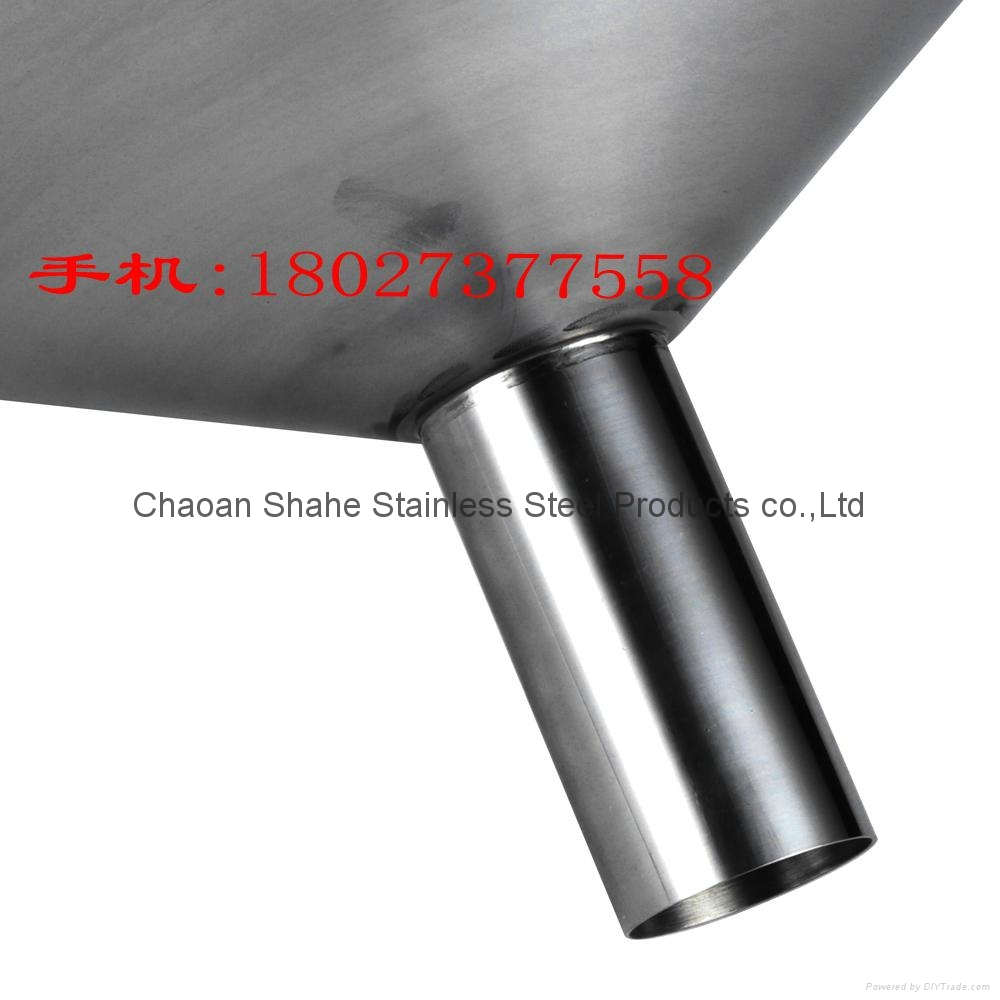The quality is 1.75 kg,diameter 40 cm,material 304 Stainless steel funnel 5
