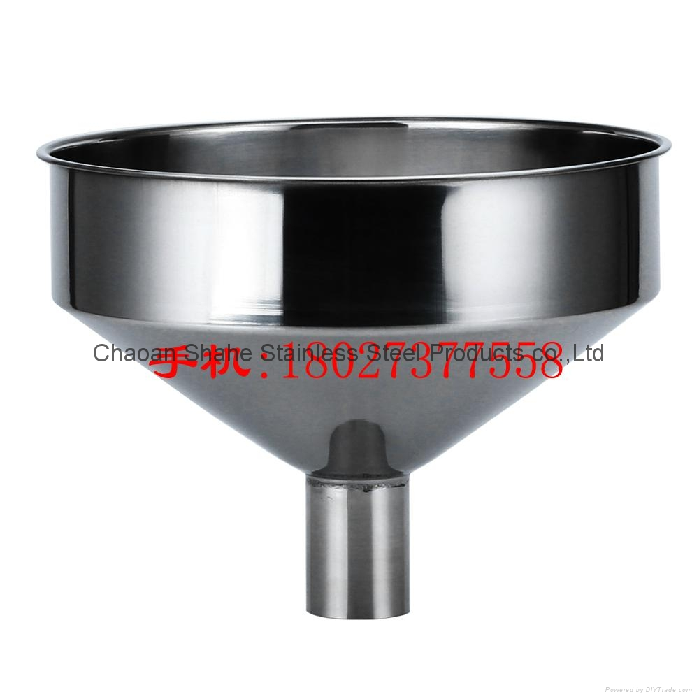 The quality is 1.75 kg,diameter 40 cm,material 304 Stainless steel funnel 18
