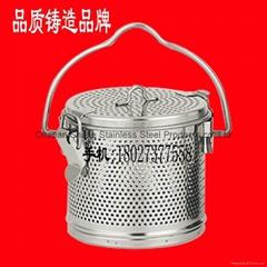 304 stainless steel soup slag basket spice seasoning basket