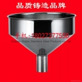 The quality is 1.75 kg,diameter 40 cm,material 304 Stainless steel funnel 19
