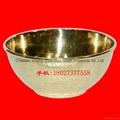 手打锤点黄铜饭碗 买铜碗找沙河
