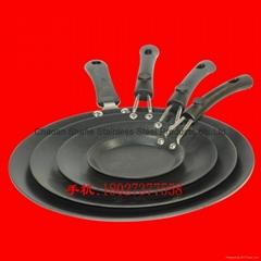 炊具精鐵不粘煎盤 厚度2.5mm日常用品