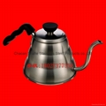 手冲不锈钢咖啡壶 长嘴细口水壶