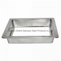 Hot pot table Matching Sinken Type stainless steel Induction Cooker Hot Pot Ring