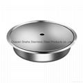 350不鏽鋼下沉式電磁爐鍋圈