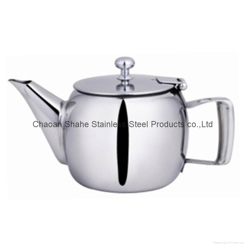 Stainless Steel Tea Pot 1