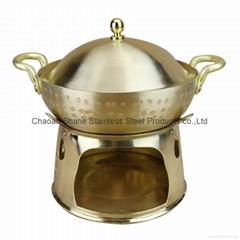 铜个人火锅