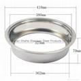 350 Sinking Type Hot Pot Pot Ring,Sunken Style Hot Pot Pot Ring