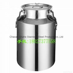 密封罐不鏽鋼油桶酒容器存儲運輸週轉牛奶桶包裝用品適用搾油作坊