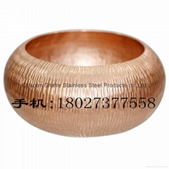 Tea Tools Extravagant Red Copper 18cm Washing Teacup Bowl Teahouse articles