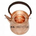 Red Copper Chaoshan Gongfu Teapot 2