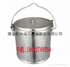 304 stainless steel soup slag basket spice seasoning basket