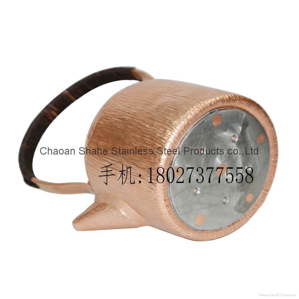 Handmade Red Copper Chaoshan Gongfu Teakettle 2