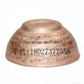 Hammer point Copper Chaoshan Gongfu Tea Cup for Leisure time Teahouse articles