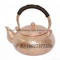 Red Copper Handmade Chaoshan Gongfu Teapot 6