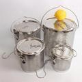 砂河 新款不锈钢汤篮卤水篮香料篮板网汤料篮 2